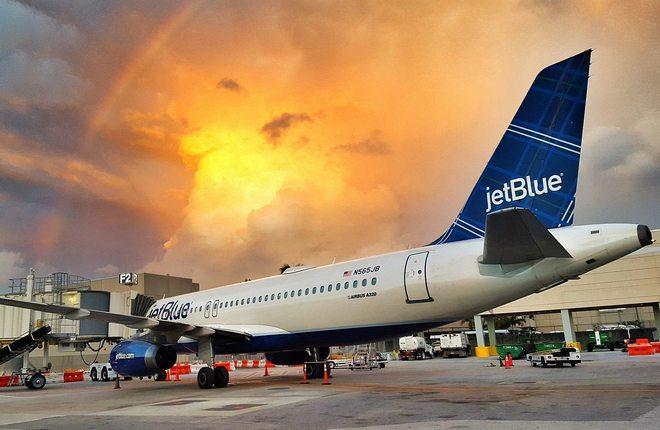 Авиаперевозчик JetBlue выходит на трансатлантический рынок