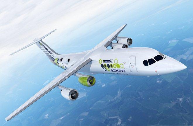 Программа летных испытаний Airbus E-Fan X стартует в 2021-м году